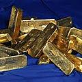 Lingots d'or mystique pour deborder la richesse dans votre vie