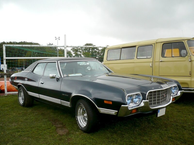 FORD Gran Torino 4door Sedan 1972 Créhange (1)