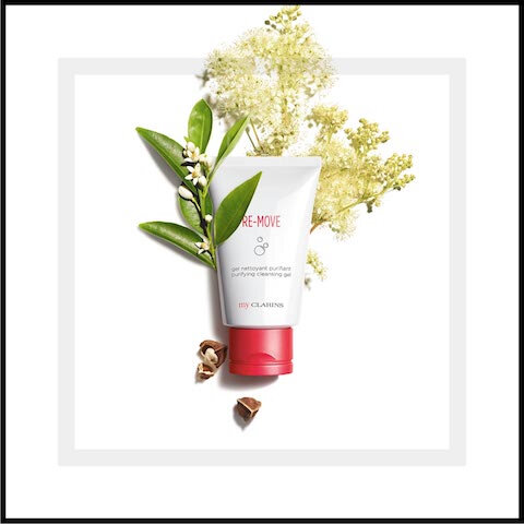 clarins re move gel nettoyant purifiant