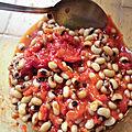 Salade de haricots aux poivrons
