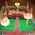 Gâteau chateau 2ème version