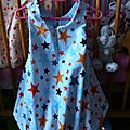Robe boule mini star