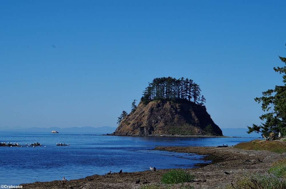 Ozette Indian Reservation Tskawahyah Island