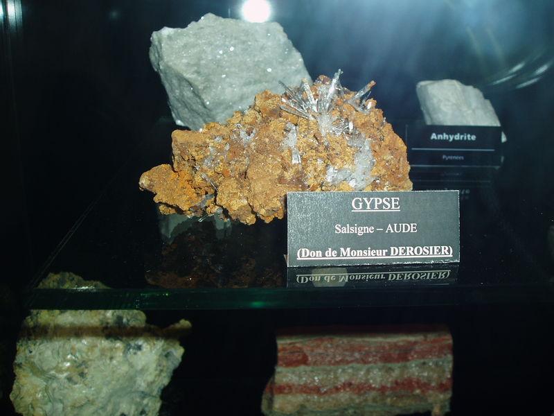 Gypse (musée d'Ambazac)