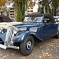 Citroën traction avant 7s cabriolet 1934