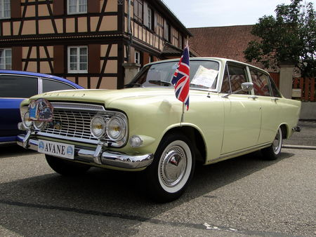 FORD Zodiac Mark III 1963 Lipsheim Retro 2010 1