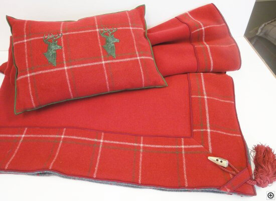 Plaid-Altalena-150x150-cm-Weston-Red