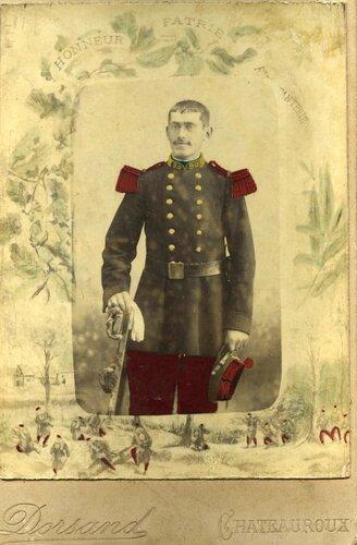 eugene aubard en 1898 au 90°RI