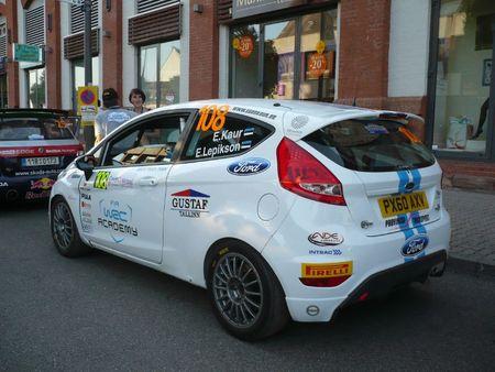 FORD Fiesta R2 n°108 Rallye de France-Alsace Illkirch (2)