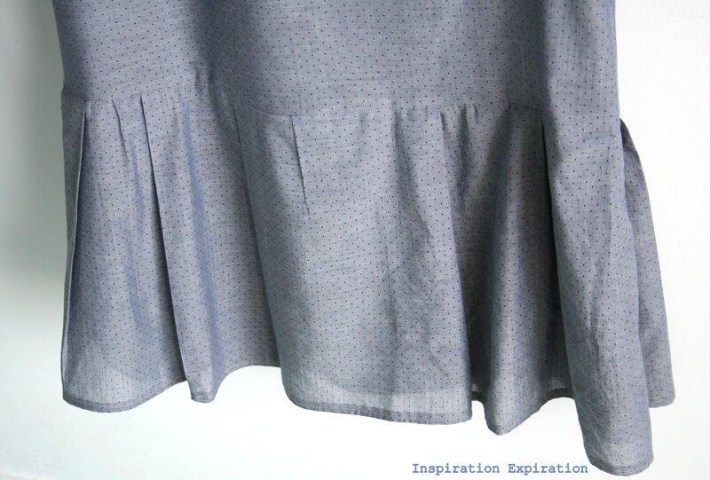 Robe Viviane plis