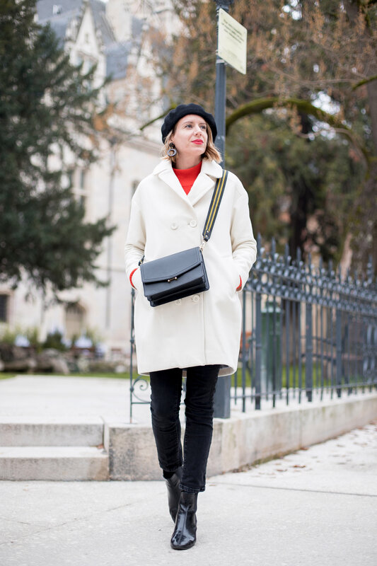 White coat and red knit -styliz (2)