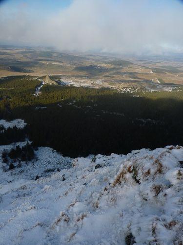 2009 12 05 Paysage observé depuis le Mont Mézenc (2)
