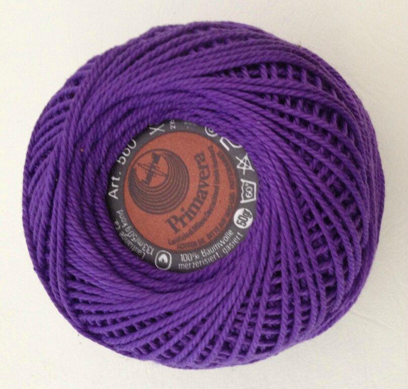 Gros perlé violet