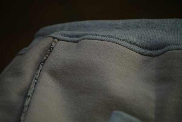 coudre des poches passepoilées