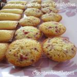financier coco framboise