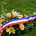Ceremonie du 50ème anniversaire du cimetiere militaire allemand d'huines-sur-mer