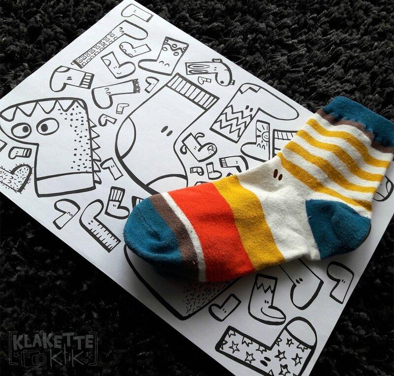 chaussettes en pagaille
