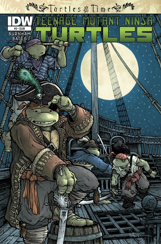 IDW TMNT turtles in time 03