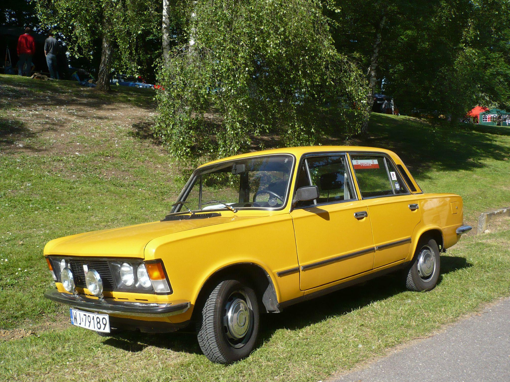 FIAT POLSKI 125p 1500 1981 Madine (1)