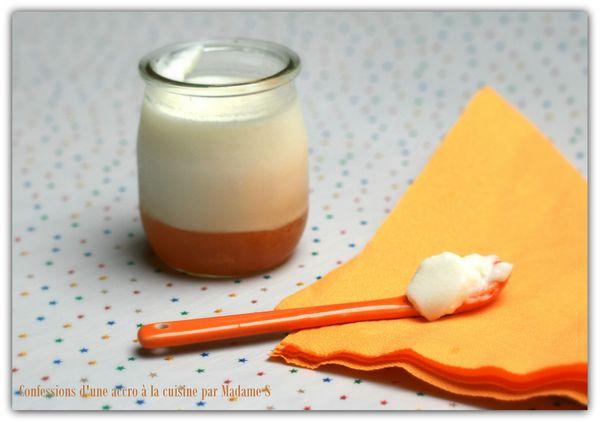 Panna cotta chèvre, compote melon-agrume 015