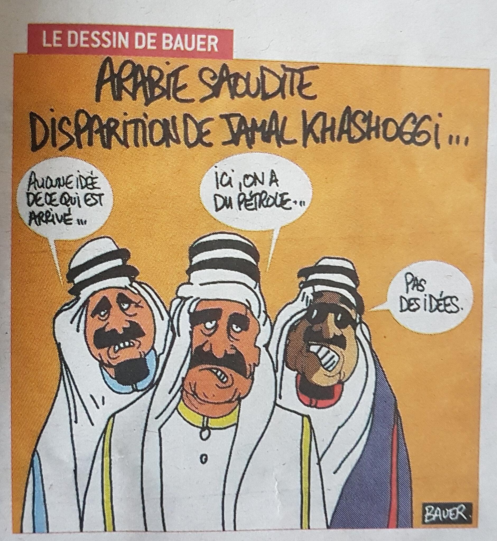 arabie saoudite humour journaliste mbs