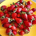 Brioches aux fraises fraîches, gaçage au citron 011
