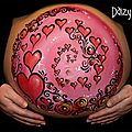 10 photos de belly painting à couper le souffle !