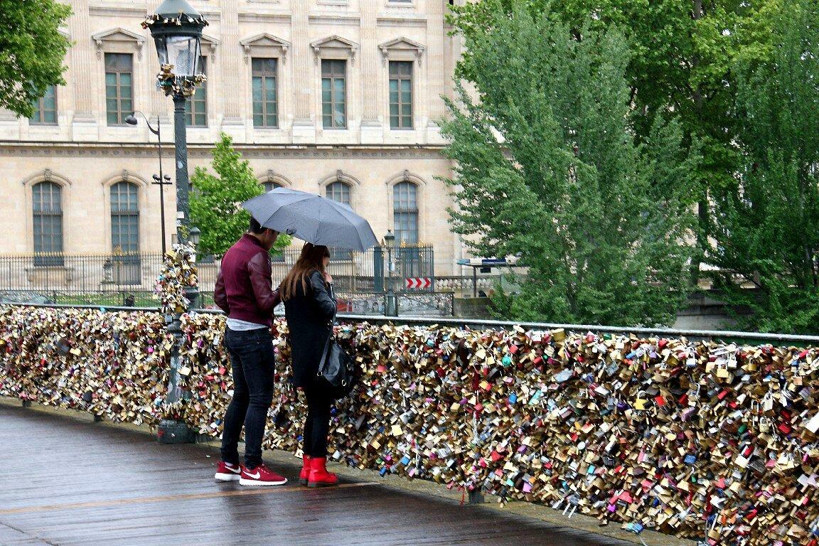 Pont des arts (parapluie) _7115