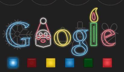 google noel Google de Noël   Points de Lutin google noel
