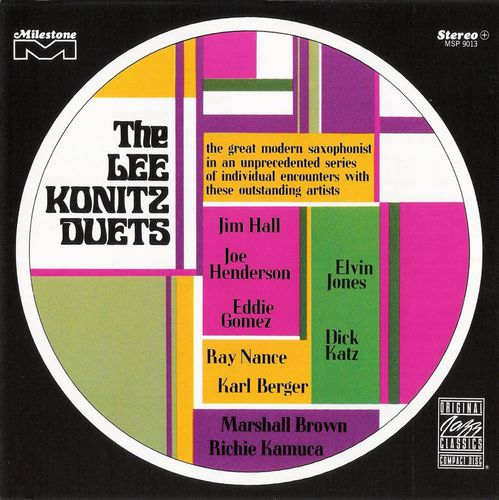 Lee Konitz - 1967 - The Lee Konitz Duets (Milestone)