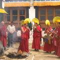 Spituk - Cérémonie de destruction du mandala (7)