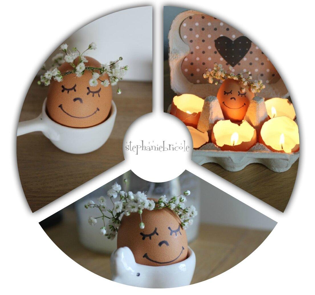 DIY Pâques - déco cosy avec des oeufs