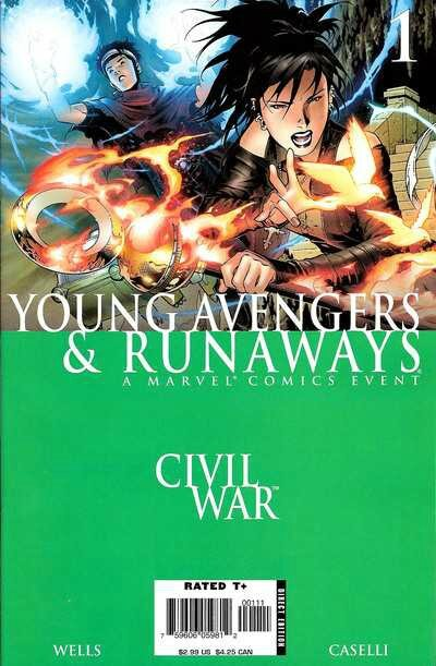 civil war young avengers runaways 1