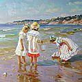 Les pêcheurs de coquillages.