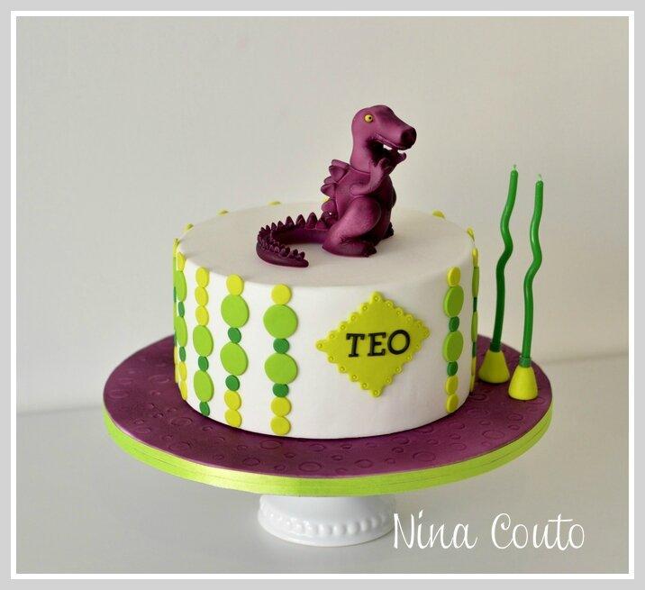 gateau anniversaire Nimes Dinosaure 6