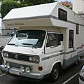 Volkswagen transporter t3 camping car little hilton