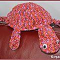 Swap rond: une tortue au crochet