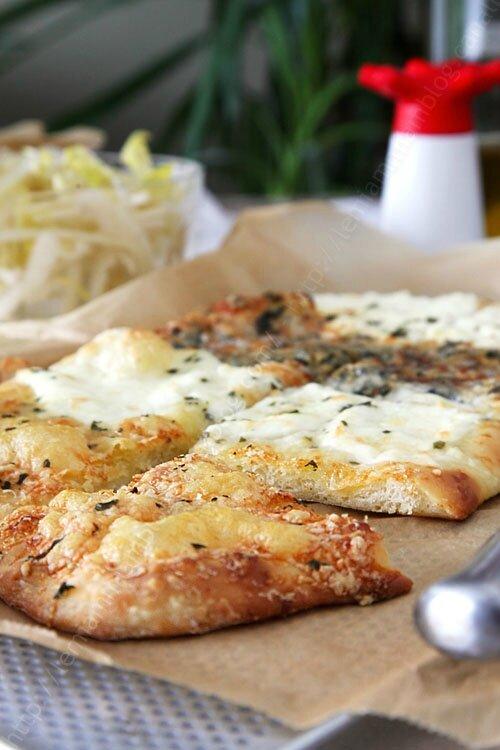 pizza 4 fromage croustipate levain 0002 LE MIAM MIAM BLOG