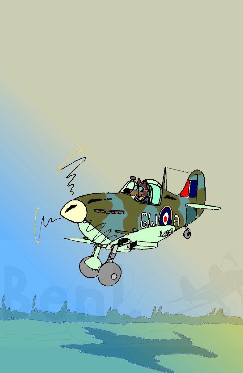 Spitfire 340 squadron de Biggin Hill