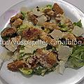 Caesar salade au poulet