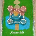 Château princesse, château de chevalier, gâteau 3d