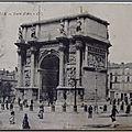 Marseille 1 - Porte d'Aix - datée 1923