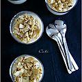 Panna cotta au parmesan & artichauts