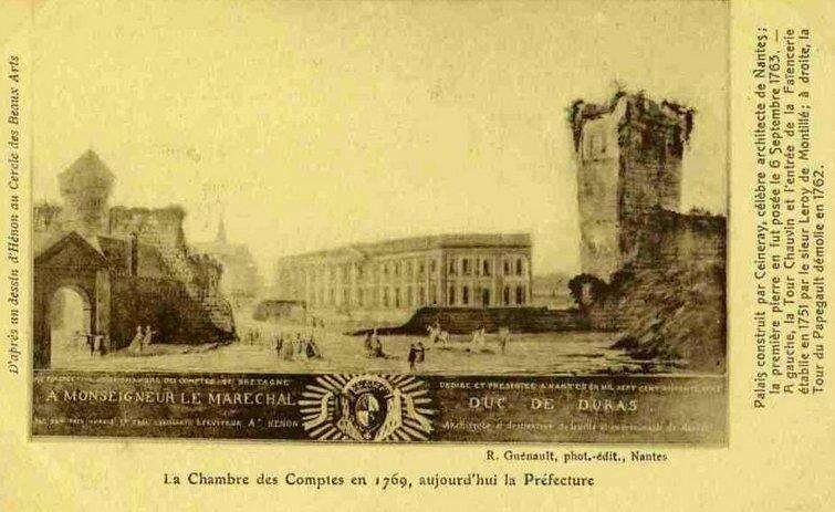 Ancien Nantes - La Chambre des Comptes