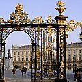 Les portes de Jean Lamour