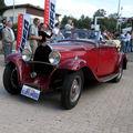 La bugatti t49 cabriolet gangloff (festival centenaire bugatti)