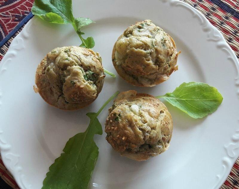 muffins fanes de radis-chèvre (4)