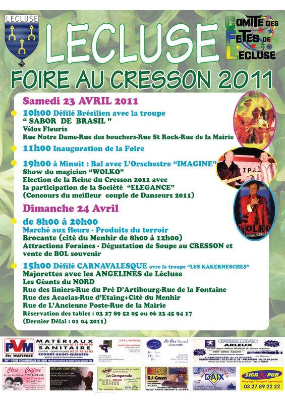 affiche cresson 2011