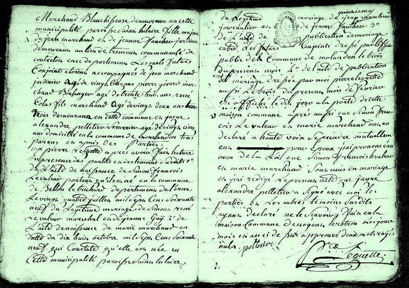 93-02-11 2 Simon François Levaleur Marie Marchand vue 2