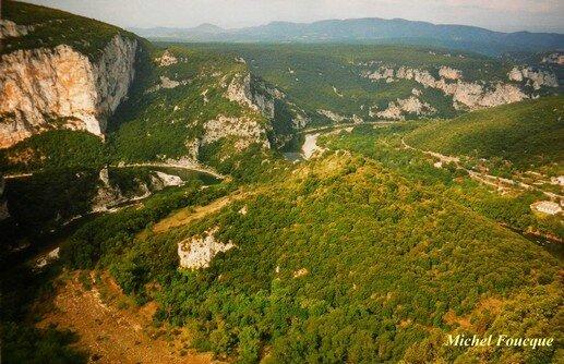 1278) Balade pédestre aux Gorges de l'Ardèche